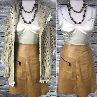4 Pcs Fall Outfit Silk Rebecca Taylor Top, Leather Skirt, Poncho Clothing Lot