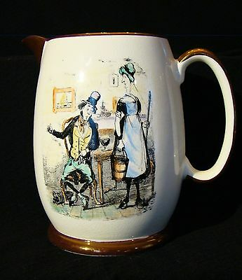 "Gray's Pottery ""Old Tobeys Jug"" Motto Tavern Pitcher 1934-1961"