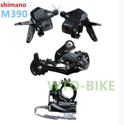 New Shimano Acera M390 Derailleur Group set Groupset 3x9-speed 3 pieces