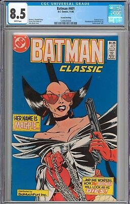 Batman #401 EXTREMELY RARE SO MUCH FUN VARIANT CGC 8.5 VF+ Only 1 Other Exists