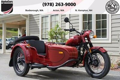 2017 Ural M70 Maroon Custom  Rare Color Loaded Reverse Gear Brembo Brakes Financting & Trades