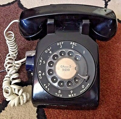 Vintage Western Electric rotary phone. Working model 500