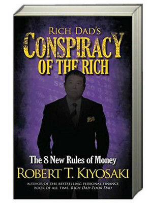 Rich Dad's Conspiracy of the Rich by  Robert Kiyosaki (mm paperback)