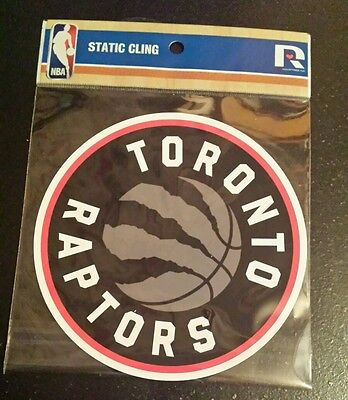 Toronto Raptors Logo Reusable Window Static Cling Decal