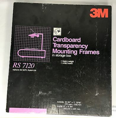Cardboard Transparency Mounting Frames 60 count -RS 7120 Replaces 9070