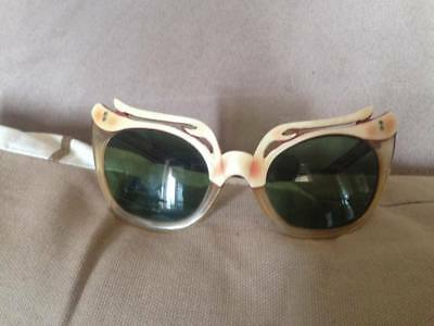 CAT EYE Vintage Woman's Glasses Frame 1950's VERY RARE