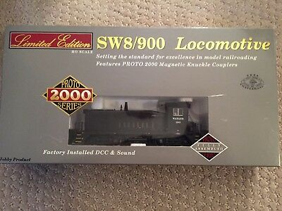 HO Walthers Proto 2000 Limited Edition DCC with sound SW8 / 900 Wabash #120
