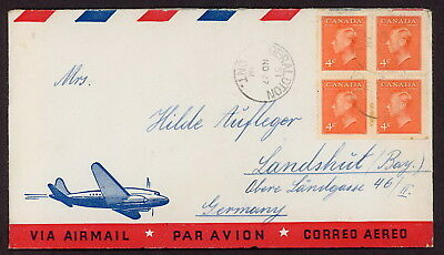 Canada | 1951 Airmail Cover
