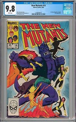 The New Mutants #14 CGC 9.8 NM/MT 1st Appearance of Magik WHITE Pages New Slab