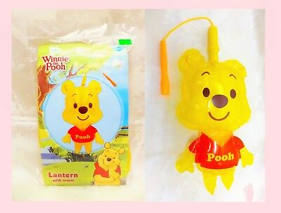 Disney Winnie the Pooh Chinese Mooncake Festival Music LED Air Inflating Lantern