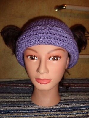 LOONETTE crochet HAT Big comfy couch Molly clown knit cosplay