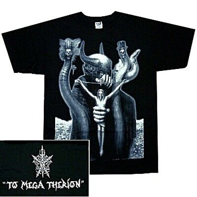 T SHIRT S-M-L-XL-2XL Brand New Official Shirt To Mega Therion CELTIC FROST