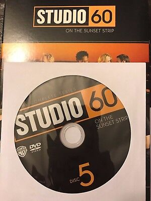 Studio 60 on the Sunset Strip - Complete Series, Disc 5 REPLACEMENT DISC