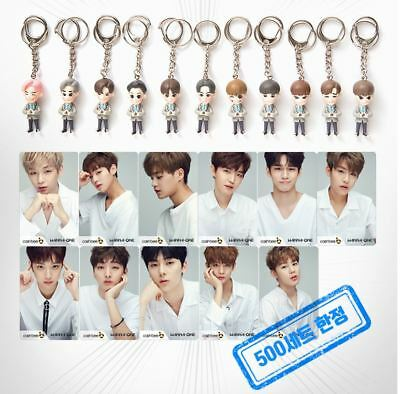 Wanna One Official Goods Figure Key Ring Keyring + Cashbee Photocard Photo Card