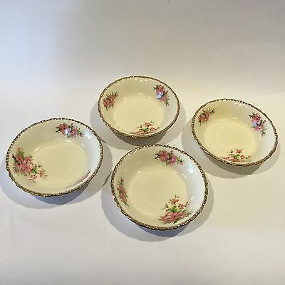 Early 20th Century Grindley - Peach Blossom - Set of Four Small BOWLS