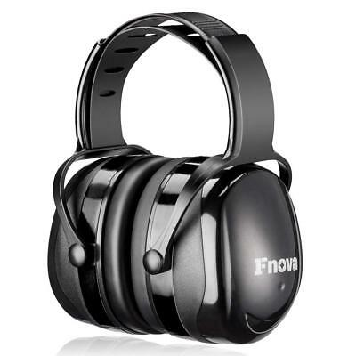 Fnova 34dB Highest NRR Safety Ear Muffs - Personal Protective, Ear Defenders