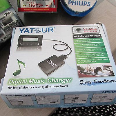 Yatour YT-M06 USB MP3 Adapter CD Changer Aux Interface