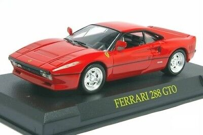 "Modellino - Ferrari 288 Gto  Scala 1 : 43 Collection "" Il Mito Ferrari """