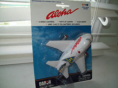 Aloha Airlines Pullback Airplane by Daron NEW