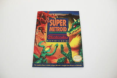 Super Metroid Player's Guide - Reproduction