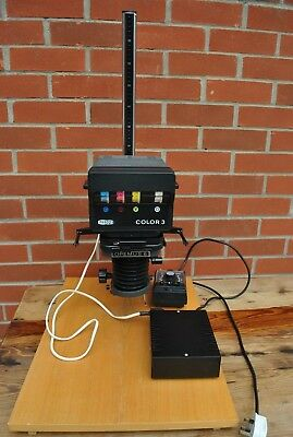 Meopta Opemus 6/Color 3 Enlarger and Film Developing Equipment