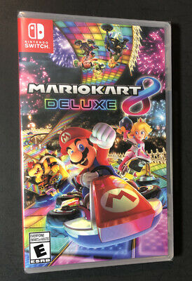 Mario Kart 8 Deluxe (Nintendo Switch) NEW