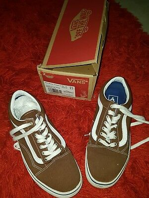 vans old skool chestnut