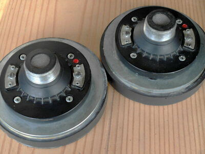 RCF TW-101 Compression Drivers with Horns - Pair