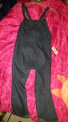 Old Navy bluejean overall jumpsuit 4t  NWT