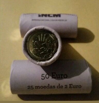 3x 2 Euro Rolle Portugal 2017