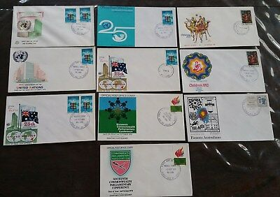 10 x Australia First Day Covers 1970 #6