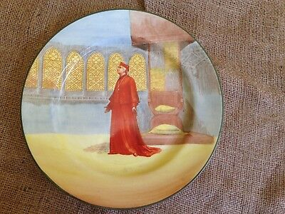 1920's Royal Doulton Cardinal Wolsey Plate. Shakespeare Series D3596 22 cm