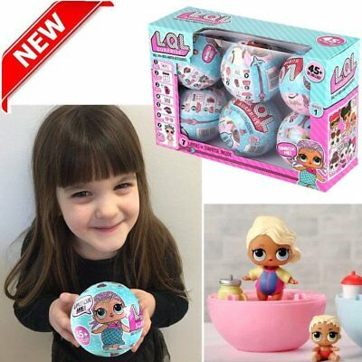 LOL Lil Outrageous 7 Layers Surprise Ball Series 1 Doll Blind Mystery Ball UK