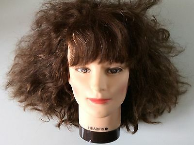 "Training Head  Female  HEADFIX  11"" High.  Perfect For All Hairdressing Students"