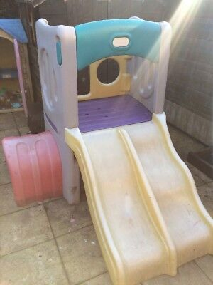 Little Tikes Double Slide And Tunnel Climbing Set