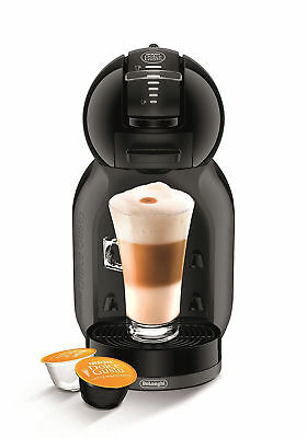Nescafe Dolce Gusto Mini Me Coffee Capsule Machine by De'Longhi Black