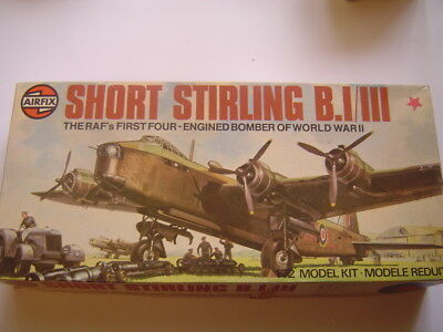 New Old Stock Airfix Short Stirling B.1/iii  4 Engine Bomber Aircraft Model Kit