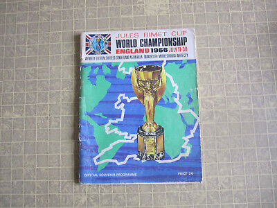 1966 World Cup Final preview Programme , good condition