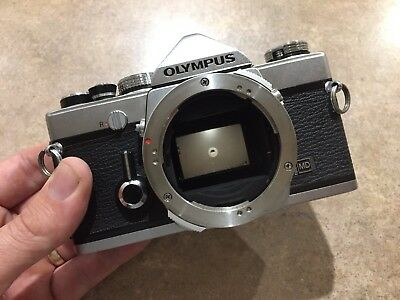 Olympus OM-1 MD 35mm Film SLR Camera