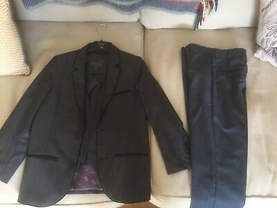 smart Ted Baker and John rocha collaboration full suit Age 9-10.