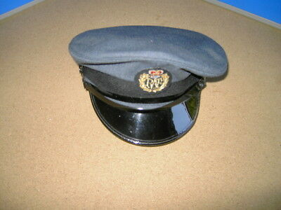 Royal Air Force - Airmans Peaked Cap In Very Good Condition Size 57 Or 7 1/8