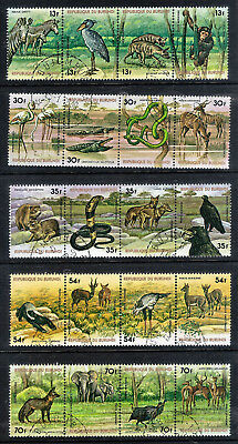 Burundi.  1977.  African Animals (3rd Series).    SG1206-1225.   Used.