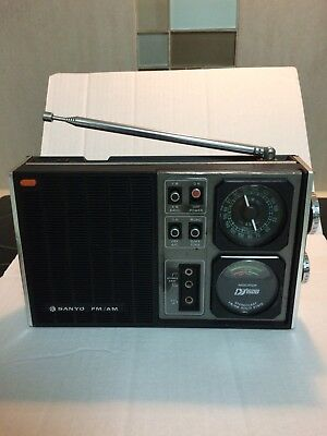 Vintage Sanyo Radio AM/FM RP 6000 Good Working Condition