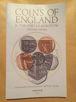 Coins of England & the United Kingdom Decimal Issues (p/b 2015) SPINK Ref Book