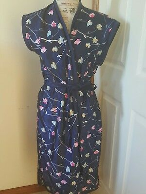 givoni vintage dressing gown/wrap dress size 12