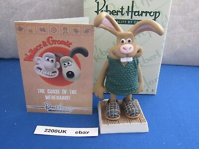 HUTCH The Curse of The Wererabbit WGFG04 Rober Harrop Wallace and Gromit new