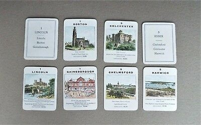 Vintage Jaques Counties of England card game, complete, boxed with Rules, c1935