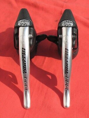 1996 Campagnolo Record Titanium 8 speed Ergopower shifters