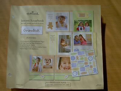 Hallmark Instant Scrapbook Refill pack - Grandkids - Just add photos!