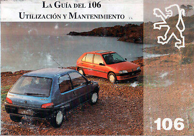 5839 # Manual usuario en español Peugeot 106 + suplemento audio